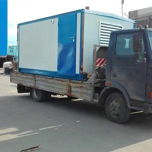 Доставка дизель генератора в контейнерном исполнении Москва - Лабытнанги